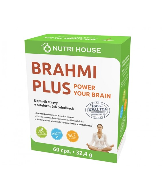 BRAHMI PLUS 60 cps/32,4 g
