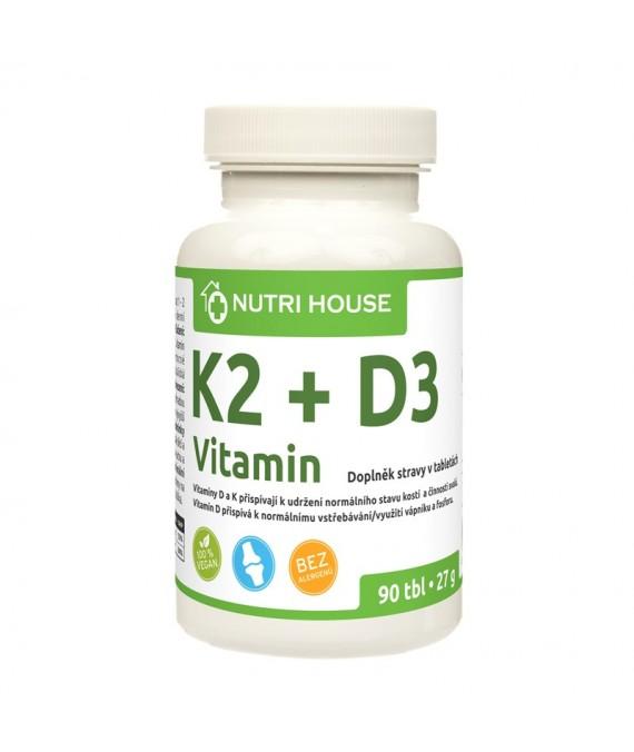 K2 + D3 vitamín 90 tbl