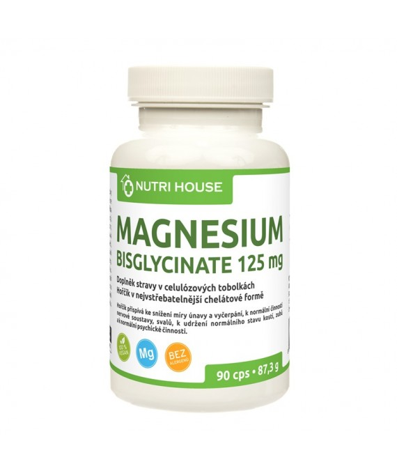 Magnesium bisglycinate 125 mg 90 cps
