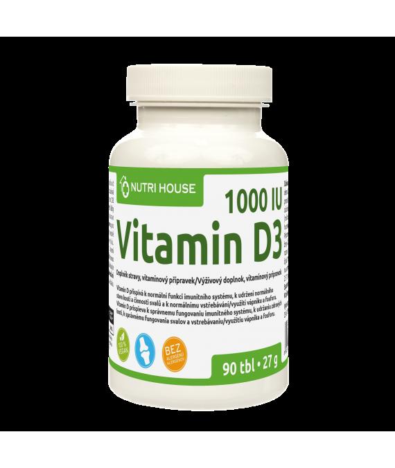 Vitamín D3 90 tbl