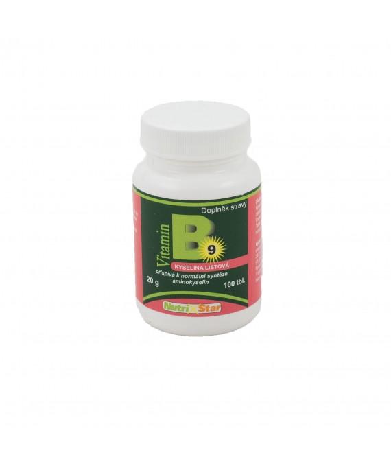 Folacin(Kyselina listová) 100 tbl
