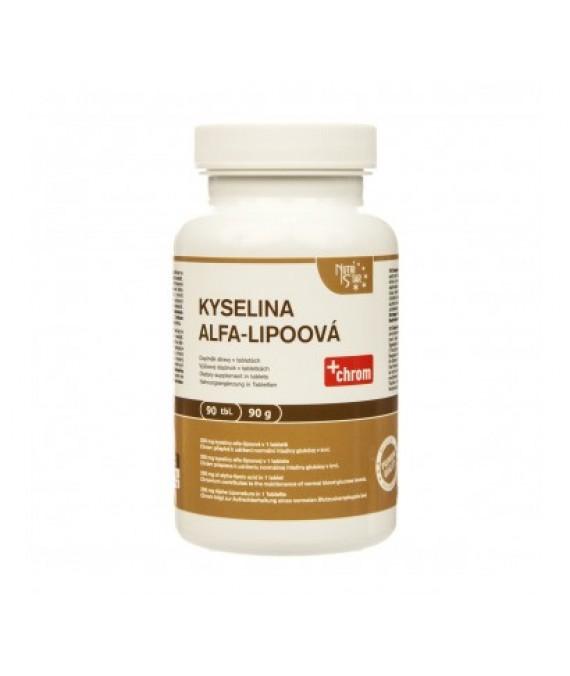 Kyselina alfa-lipoová 90 tbl.