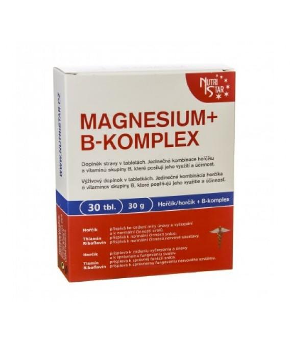 Magnesium + B-komplex 30 tbl / 30 g