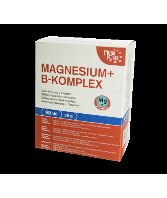 Magnesium + B-komplex 90 tbl / 90 g