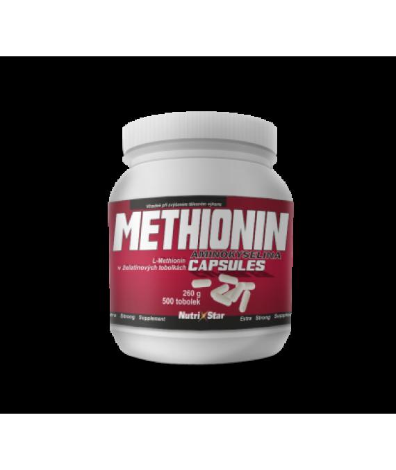Methionin 500 cps.