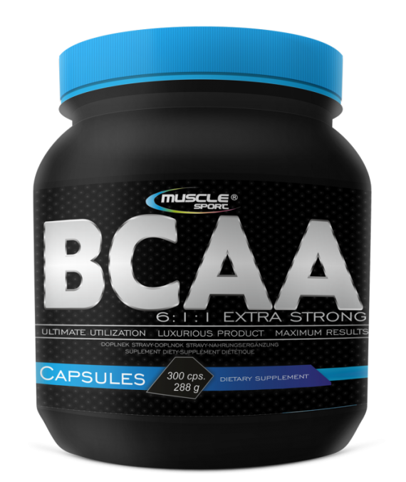 BCAA 6:1:1 Extra Strong Caps 300 cps.
