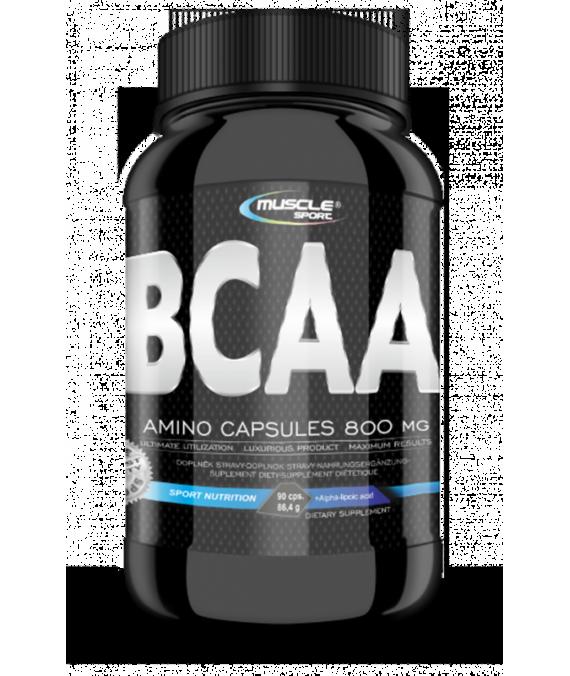 BCAA AMINO Caps 800 mg 90 kapslí