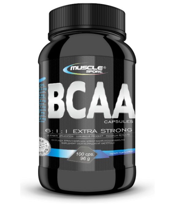 BCAA 6:1:1 Extra Strong Caps  100 cps.