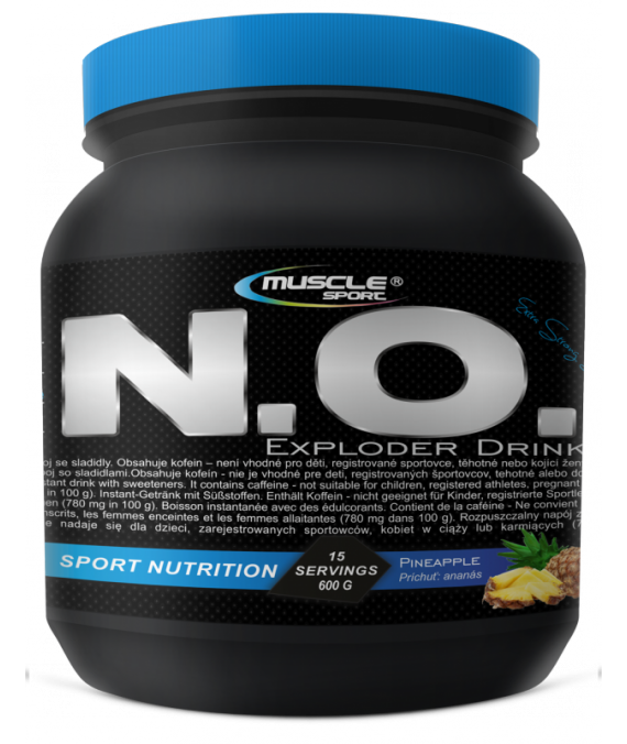 N.O. Exploder Drink 600 g