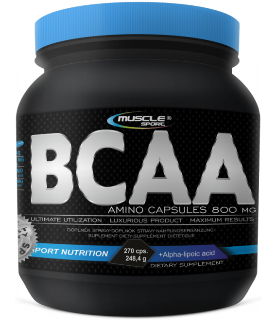 BCAA AMINO Caps 800 mg 270 kapslí