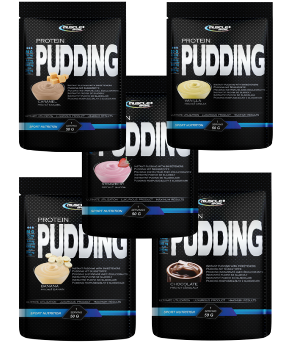 Protein Pudding BOX  750 g