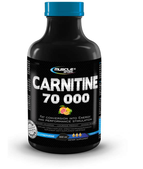 L-Carnitine 70000 tekutý 500 ml.