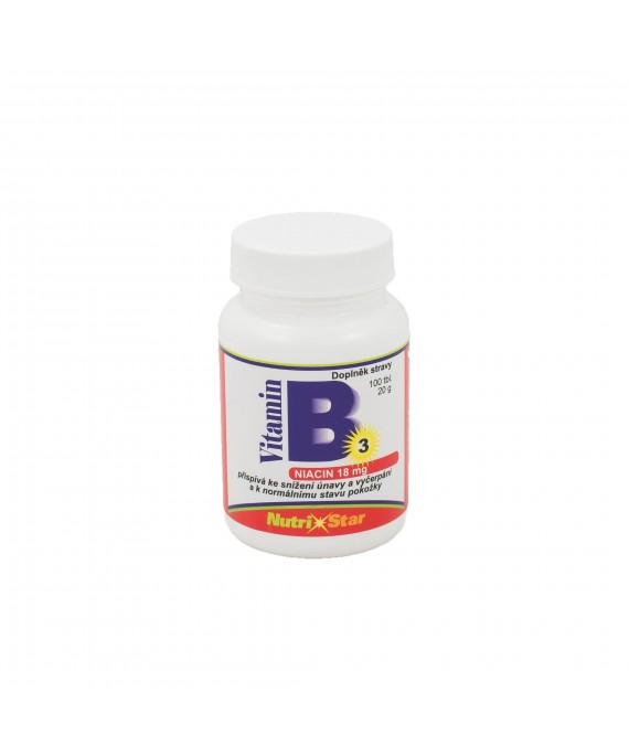 Niacin (vit. B3) 100 tbl.