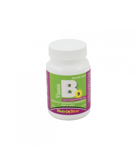 Pantothenová kyselina (vit. B5) 100 tbl.