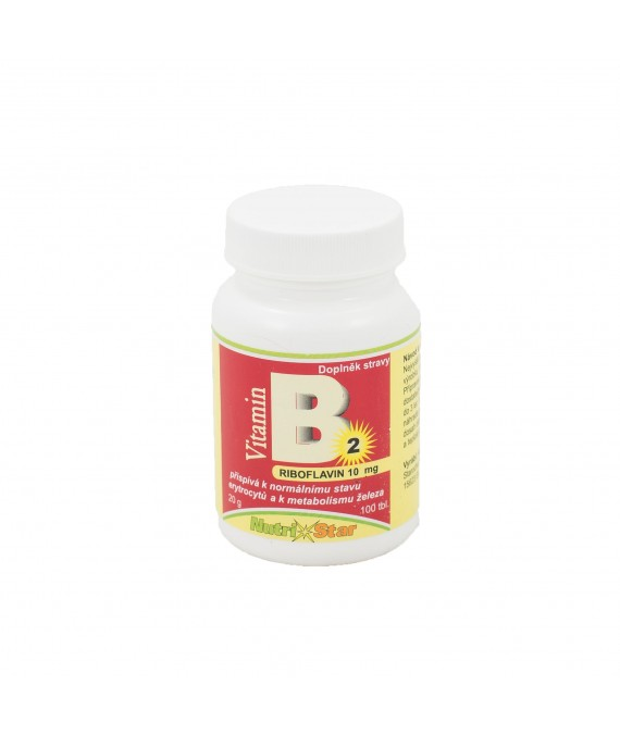 Riboflavin (vit. B2) 500 tbl.