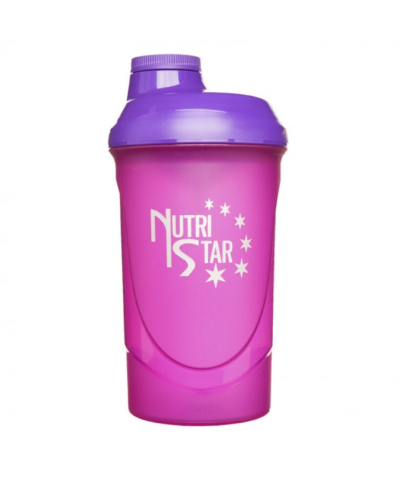 Shaker ružový 600 ml