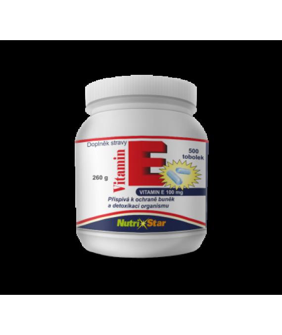 Vitamín E 500 cps.