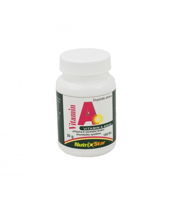 Vitamín A 100 tbl.