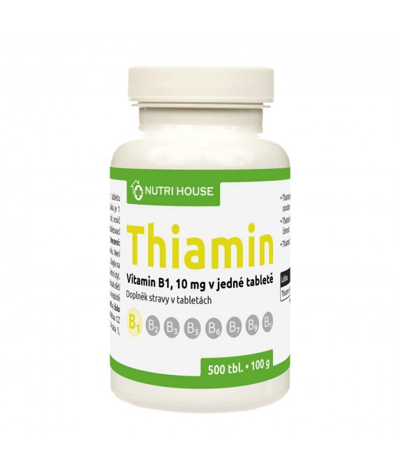 Vitamín B1 (Thiamin ) 500 tbl