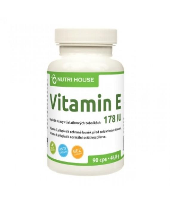 Vitamín E 90 cps.